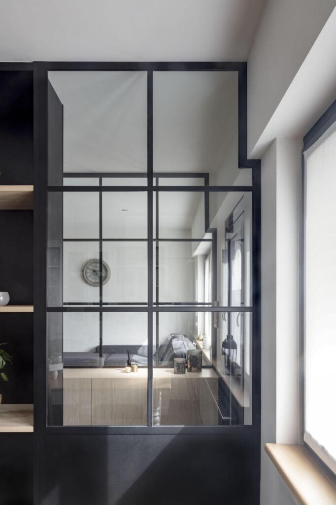 Steellook glazen deuren
